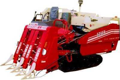 东方红-国际(525EX)半喂入水稻联合收割机
