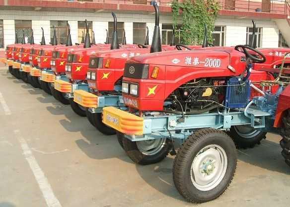 ts240潍泰牌12 2强化节能型拖拉机