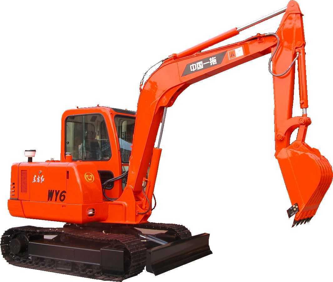东方红-WY6履带式液压挖掘机