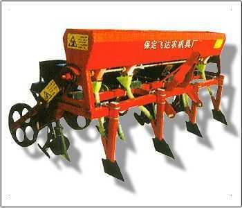 玉米免耕施肥播種機