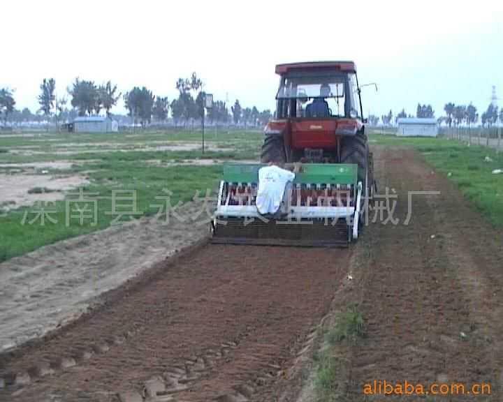小麦种肥分施旋播机