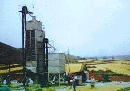 混流式粮食干燥机