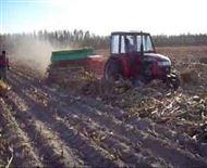 高效玉米秸秆自动捡拾打捆机