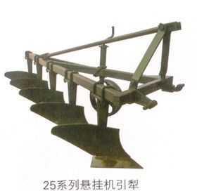 悬挂机引犁