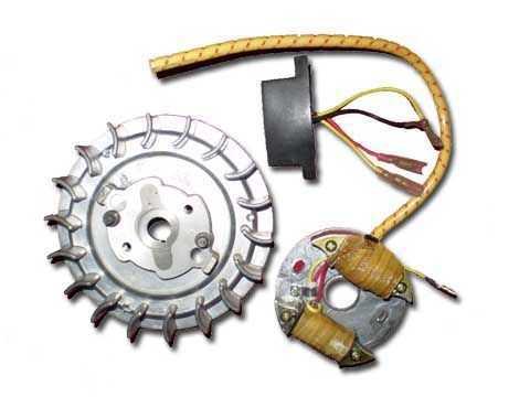 YJ4油鋸飛輪(磁電機)