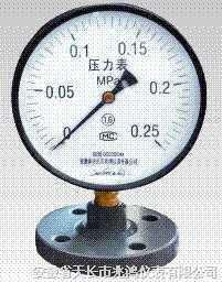 防强腐全塑隔膜压力表