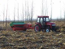 玉米秸秆自动捡拾打捆机