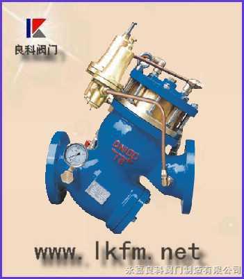 水力控制阀:yq980010-ls20010型过滤活塞式预防水击泄图片