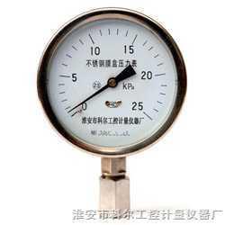 膜盒压力表