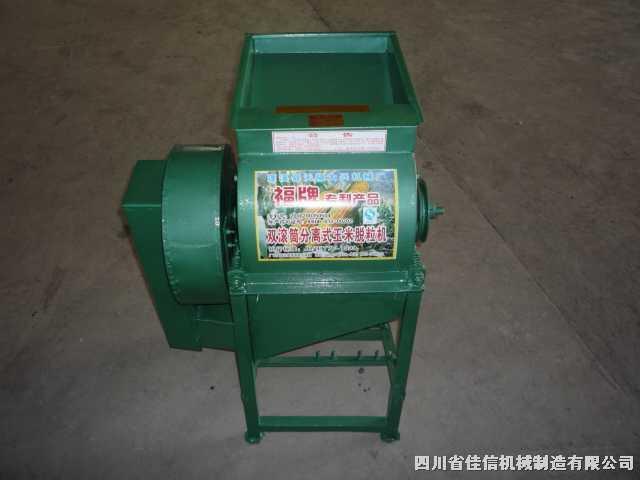 33型-吸糠吸尘式双滚玉米脱粒机
