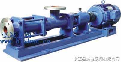 螺杆泵:GF型不锈钢单螺杆泵