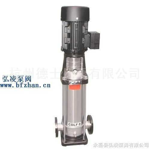 多级泵:CDLF系列轻型不锈钢立式多级离心泵