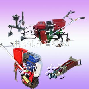 小型播种机 汽油机播种机 中耕播种施肥机