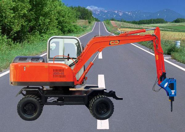 江西全新輪式挖掘機價格/360度雙驅動小型挖掘機,小型履帶挖掘機,小型輪式挖掘機