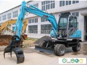 小型轮式挖掘机厂家/液压轮式小型挖掘机/福建小型轮式挖掘机